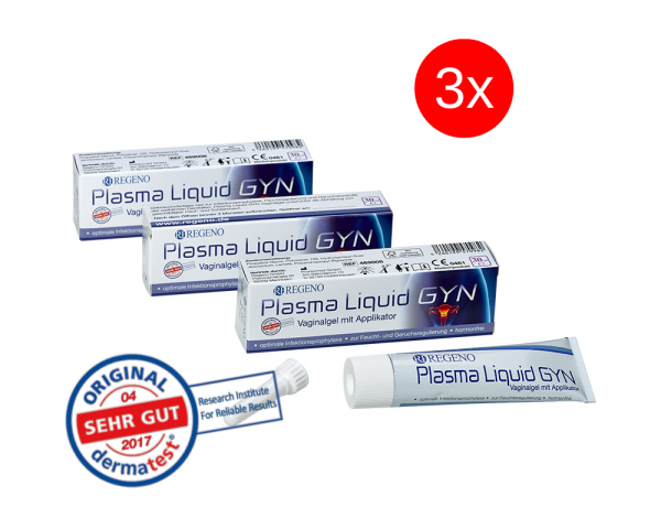 Savings package: Plasma Liquid GYN® Vaginal Gel