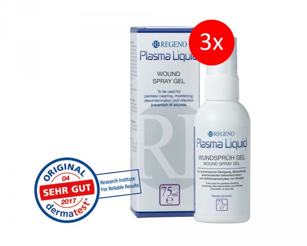 Savings package: Plasma Liquid® Wound Spray Gel